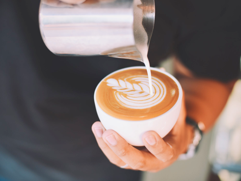 Latte art F5
