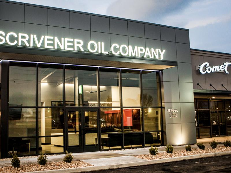 Scrievener Oil Exterior